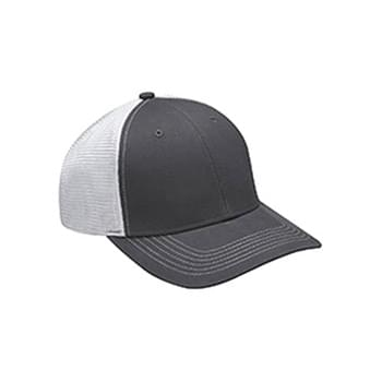 Brushed Cotton/Soft Mesh Trucker Cap