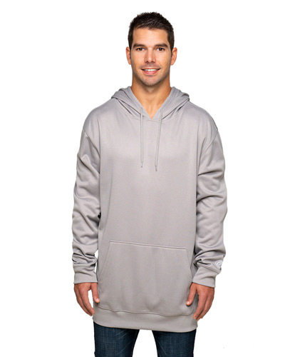 Adult 8.8 oz., Polyester Fleece Pullover Hooded Sweatshirt