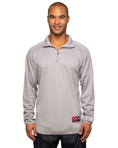 Adult 8.8 oz., Polyester Fleece 1/4-Zip Sweatshirt