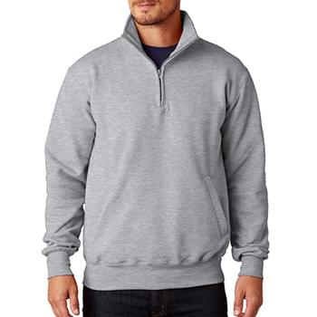 Adult 9 oz., Double Dry Eco Quarter-Zip Pullover