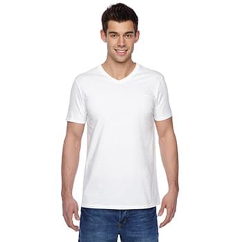 Adult 4.7 oz. Sofspun Jersey V-Neck T-Shirt