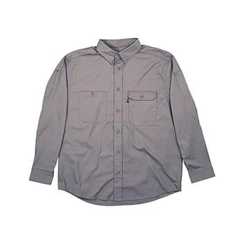 Men's Utility Lightweight Canvas Woven Shirt