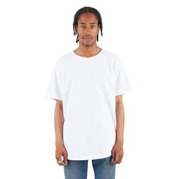 Adult 6 oz., Curved Hem Long T-Shirt