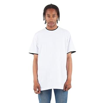 Adult 5.9 oz., Double Layer Short-Sleeve Crewneck T-Shirt
