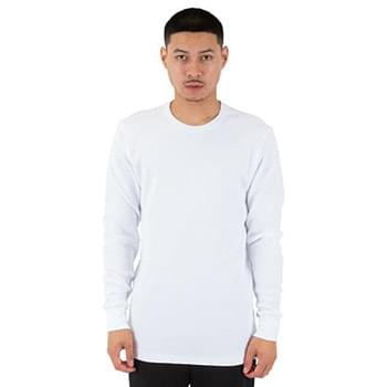 Men's Spandex Thermal Crewneck T-Shirt