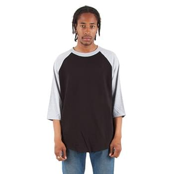 Adult 6 oz., 3/4-Sleeve Raglan T-Shirt