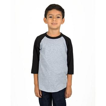 Youth 6 oz., 3/4-Sleeve Raglan