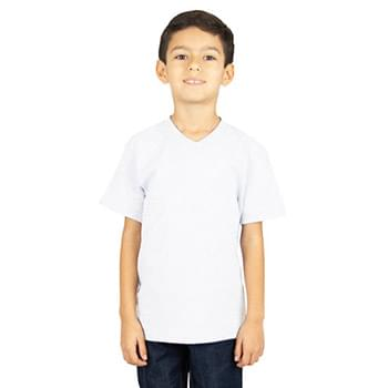 Youth 5.9 oz., V-Neck T-Shirt