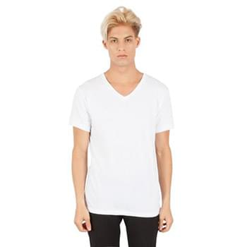 Men's Combed Ring-Spun Cotton V-Neck T-Shirt