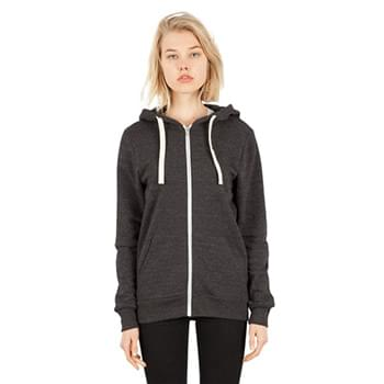 Unisex 7.8 oz. Tri-Blend Full-Zip Hoodie T-Shirt