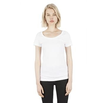 Ladies' 4.6 oz. Modal Scoop Neck T-Shirt