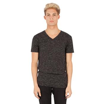 Men's  4.3 oz. Caviar V-Neck T-Shirt