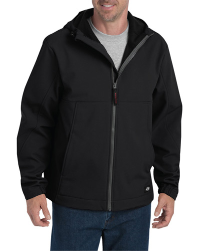 Men's Performance Flex Soft Shell Jacket with Hood