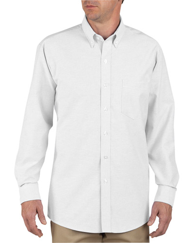 Unisex Tall Button-Down Long-Sleeve Oxford Shirt