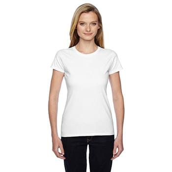 Ladies' 7.8oz./lin.yd. Sofspun Jersey Junior Crew T-Shirt