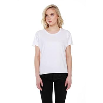 Ladies' 3.5 oz., 100% Cotton Concert T-Shirt