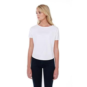 Ladies' 3.5 oz., 100% Cotton New Dolman T-Shirt