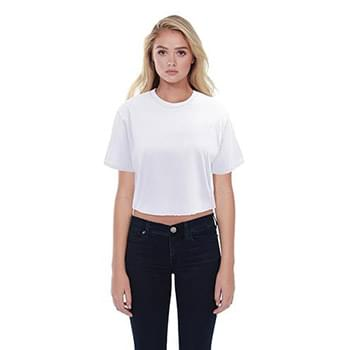 Ladies' Boyfriend Crop T-Shirt