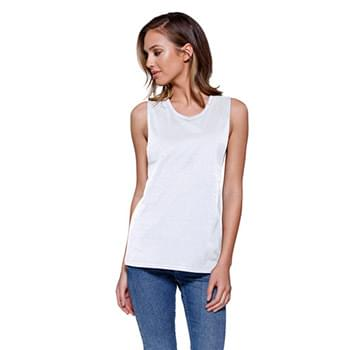 Ladies' Cotton Muscle T-Shirt