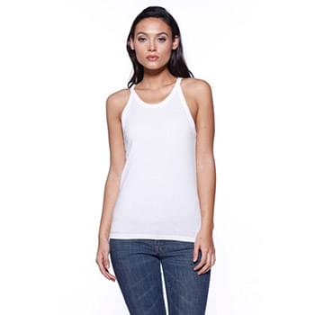 Ladies' CVC Halter Tank Top