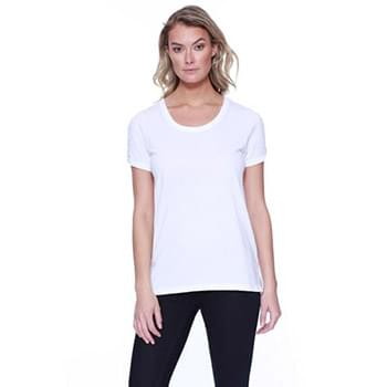 Ladies' Cotton/Modal Open Shoulder
