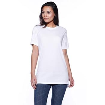Unisex CVC Long Body T-Shirt