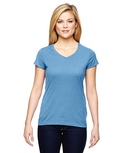 Ladies' Vapor? Cotton Short-Sleeve V-Neck T-Shirt