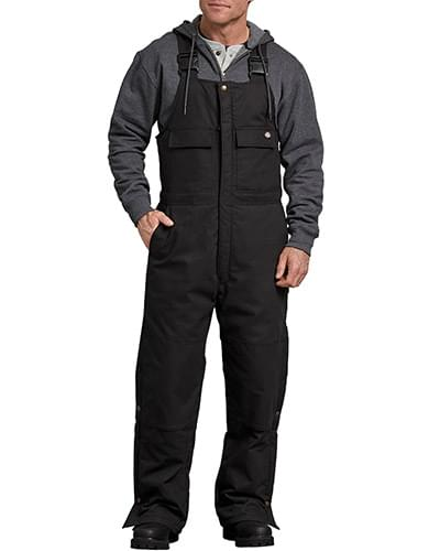 Men's FLEX Sanded Duck Insulated Bib Overall