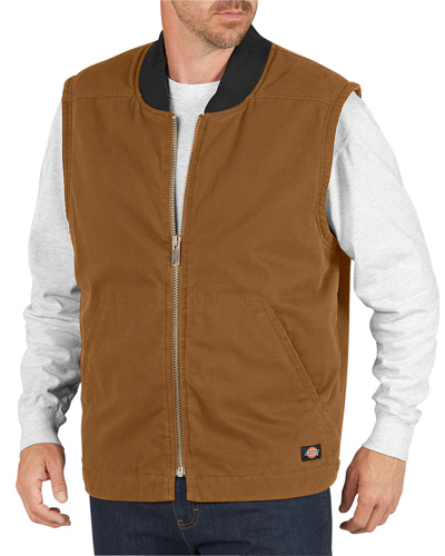 Unisex Sanded Duck Insulated Vest