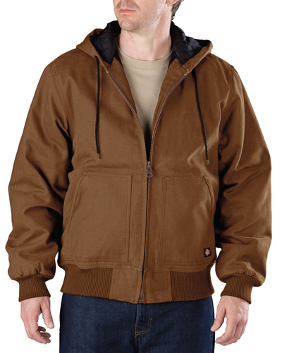 Men's Sanded Duck Hooded Jacket