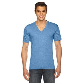 Unisex Triblend Short-Sleeve V-Neck