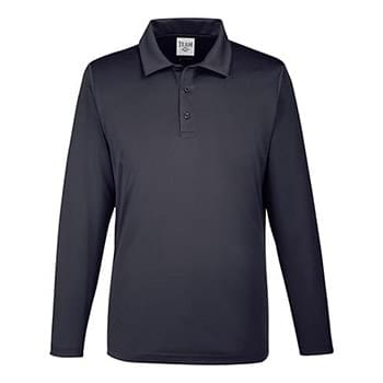 Men's Zone Performance Long Sleeve Polo