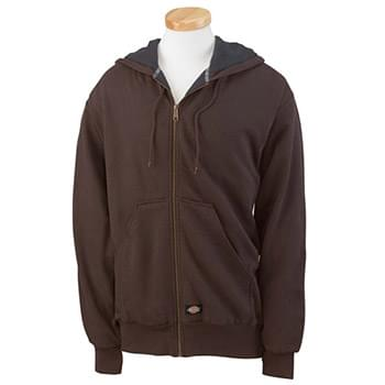 Men's 470 Gram Thermal-Lined Fleece Hooded Jacket