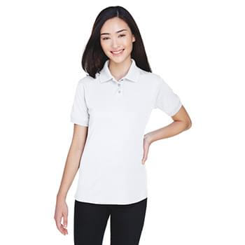 Ladies' Platinum Performance Piqu Polo with TempControl Technology