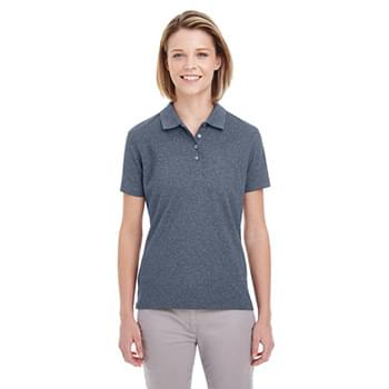 Ladies' Heathered Piqu Polo