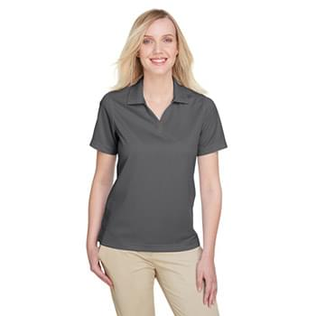 Ladies' Cavalry Twill Performance Polo