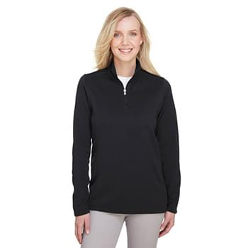 Ladies' Coastal Pique Fleece Quarter-Zip