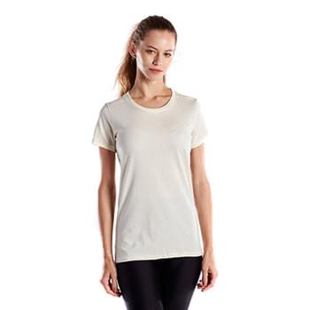 Ladies' 4.5 oz. Short-Sleeve Garment-Dyed Jersey Crew