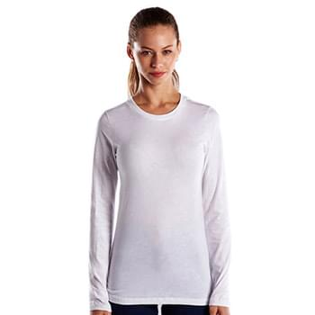 Ladies' 4.3 oz. Long-Sleeve Crewneck