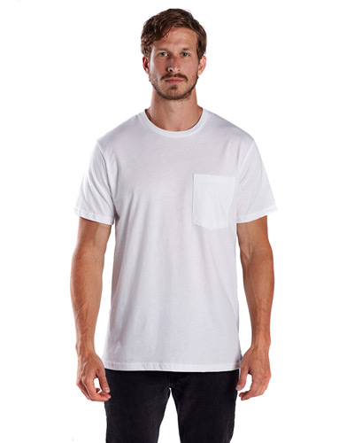 Men's 4.3 oz. Pocket Tee Crew