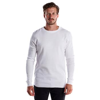 Men's 5.8 oz. Long-Sleeve Thermal Crewneck