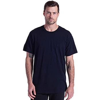 Men's Short-Sleeve Slub Crewneck T-Shirt Garment-Dyed