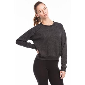 Ladies' Sponge Fleece Crop Top
