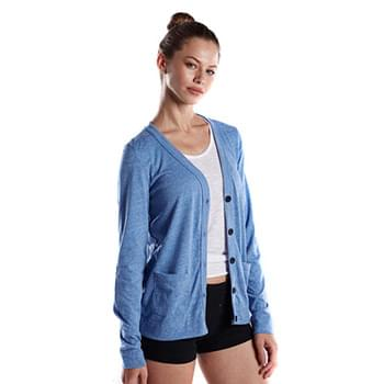 Ladies' 4.9 oz. Long-Sleeve Cardigan