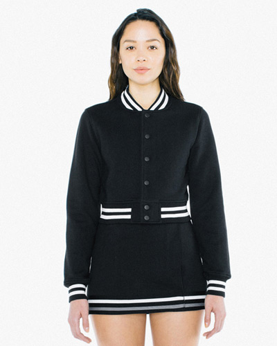 Ladies' Heavy Terry Cropped Club Jacket