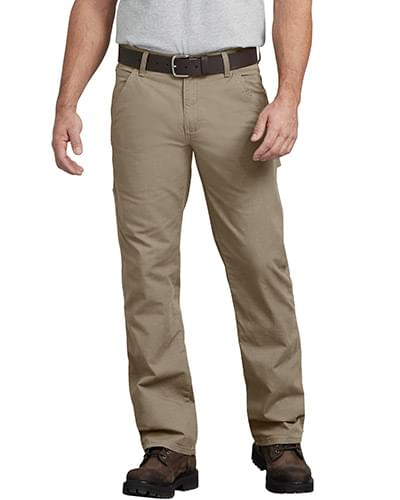 Men's FLEX Regular Fit Straight Leg Tough Max Ripstop Carpenter Pant