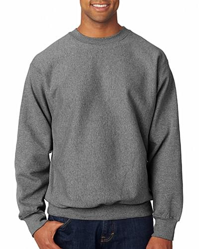 Adult Cross Weave Crew Neck Sweatshirt